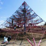 岐阜県各務原市の子供の遊び場「かさだ広場」