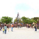 愛知県津島市の子供の遊び場(と花の名所)「天王川公園」