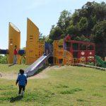 岐阜県関市の子供の遊び場「十六所公園」