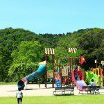 岐阜県岐阜市の子供の遊び場「畜産センター公園」