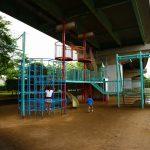 【雨でも遊べる屋外公園】愛知県一宮市の子供の遊び場「玉ノ井南部児童遊園」