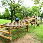 岐阜県大垣市の子供の遊び場「西公園」