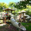 滋賀県高島市の子供の遊び場「今津宮の森公園」
