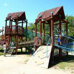滋賀県高島市の子供の遊び場「びわ湖こどもの国」
