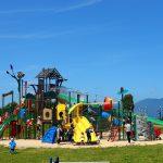 滋賀県守山市の子供の遊び場「びわこ地球市民の森」