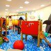 イオンモール各務原の子供の遊び場「ボーネルンドあそびのせかい」と「モーリーファンタジー」