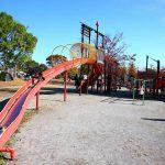 岐阜県羽島市の子供の遊び場「コスモパーク羽島(市民の森羽島公園)」