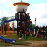 岐阜県笠松町の子供の遊び場「笠松町運動公園」