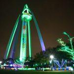 「138タワーパーク」のウインターイルミネーション2017