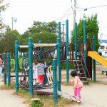 愛知県一宮市の子供の遊び場「大平島公園」