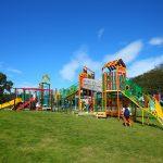 愛知県扶桑町の子供の遊び場「木曽川扶桑緑地公園」【2018年遊具一部リニューアル】