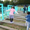 日本モンキーパーク内の子供の遊び場「ダビンチピンチ」