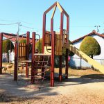 【小さな公園】愛知県岩倉市の子供の遊び場「御土井公園」