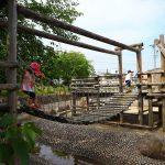 愛知県北名古屋市の子供の遊び場「コッツ山公園」