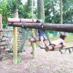 愛知県大口町の子供の遊び場「白山ふれあいの森」