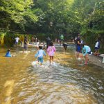 夏だ!川だ!岩屋堂公園で子供と一緒に水遊び!|愛知県瀬戸市