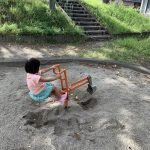 【小さな公園】愛知県一宮市の子供の遊び場「起児童公園」|中華料理の提供待ち時間にも