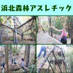 「浜北森林アスレチック」のフィールドアスレチックが充実しすぎててヤバイ!|静岡県浜松市