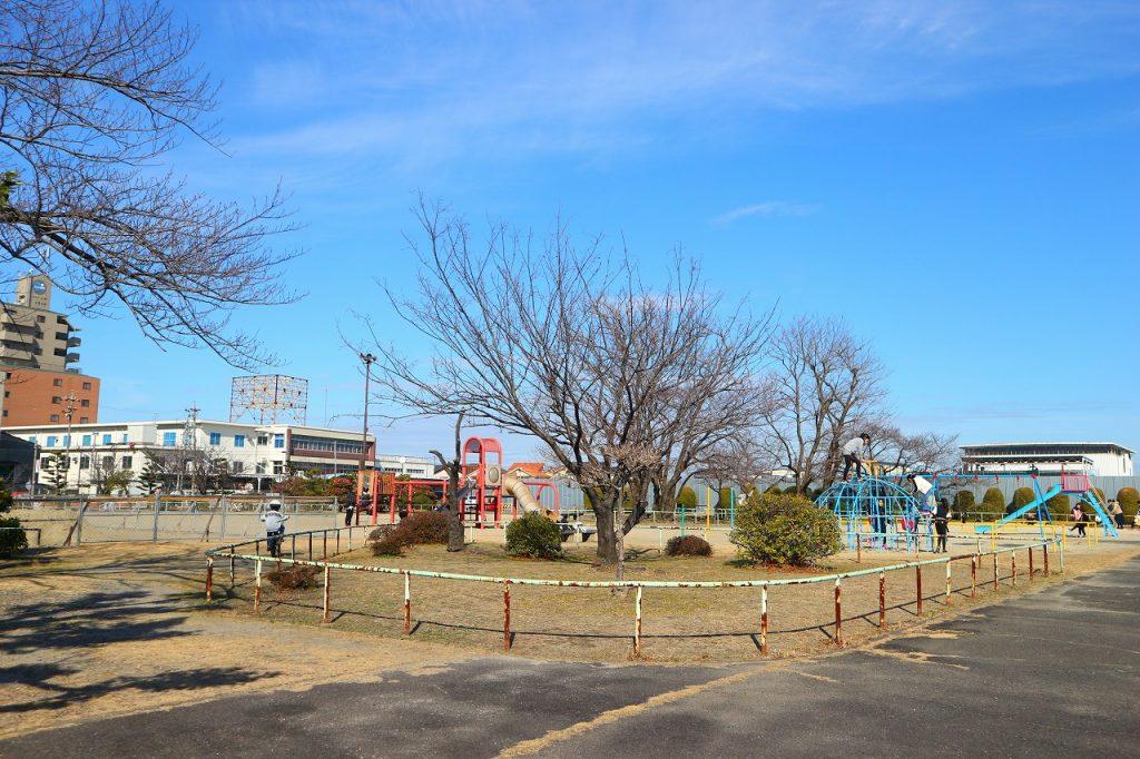 愛知県大治町の子供の遊び場「大治町浄水場公園」
